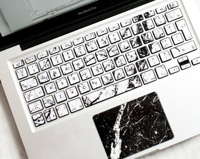 White marble macbook keyboard stickers macbook pro 13 decals keyboard decals macbook macbook air keyboard cover