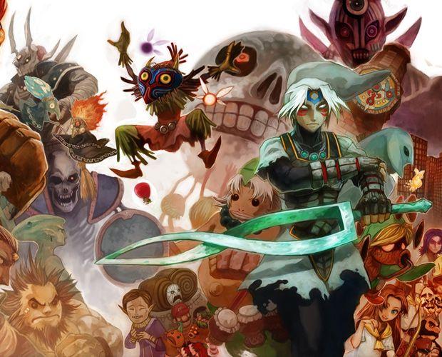 legend zelda majoras mask characters | Legend of zelda, Majora\'s ...