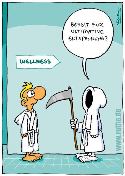 Wellness gutschein comic  Pin von Marie auf Cartoon | Pinterest | Ruthe, Lustiges und Tod