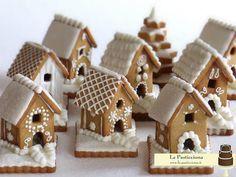 Casetta Di Natale Con Biscotti : Mini casette di biscotto dolci christmas sweets christmas