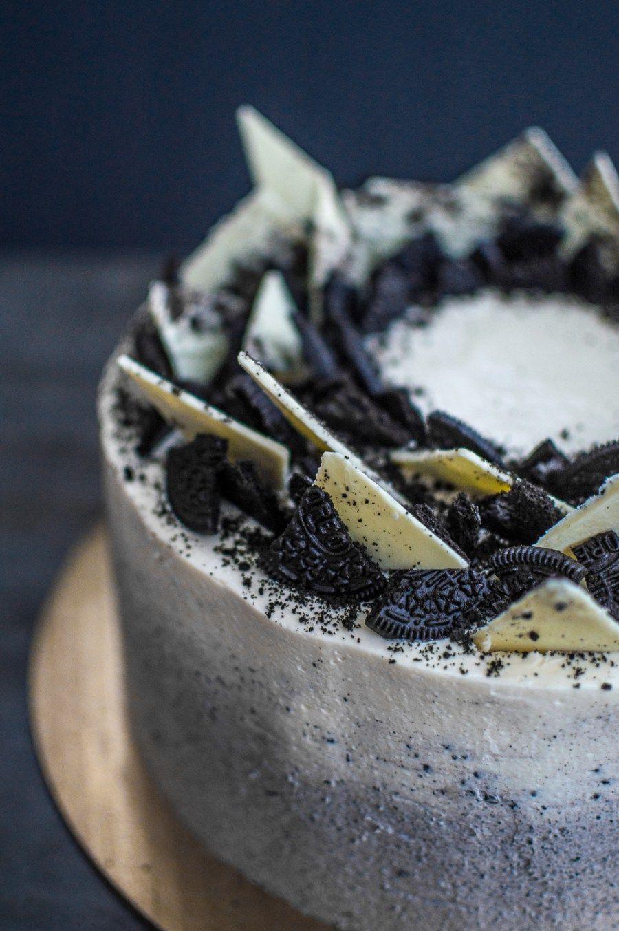 ombre oreo chocolate cake