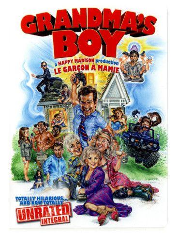 Grandma S Boy Canadian Movie Poster 2006 Premium Giclee Print Allposters Com Movies For Boys Grandma S Boy Funny Movies