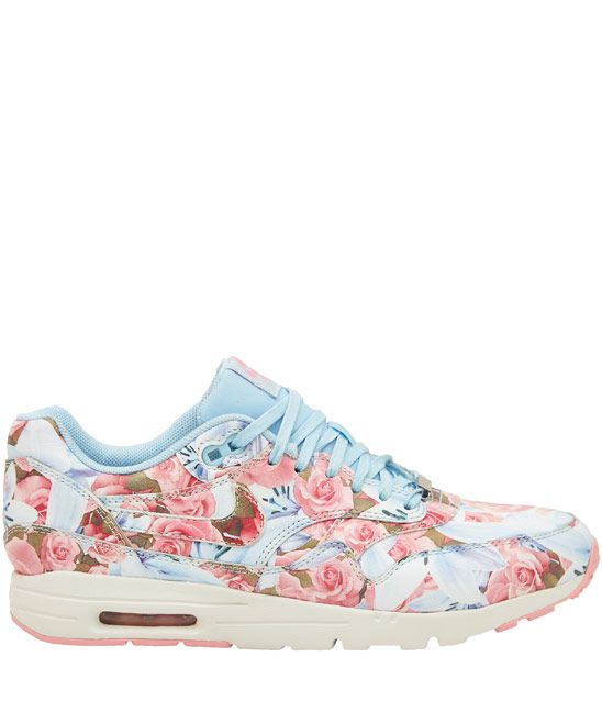Flower power sneakers Nike Light Blue Paris City Collection Air Max 1 Ultra  Trainers from Liberty