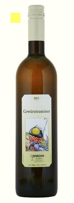 Sehr aromatischer, komplexer Weisswein mit köstlichen Litschi- und Rosenaromen.