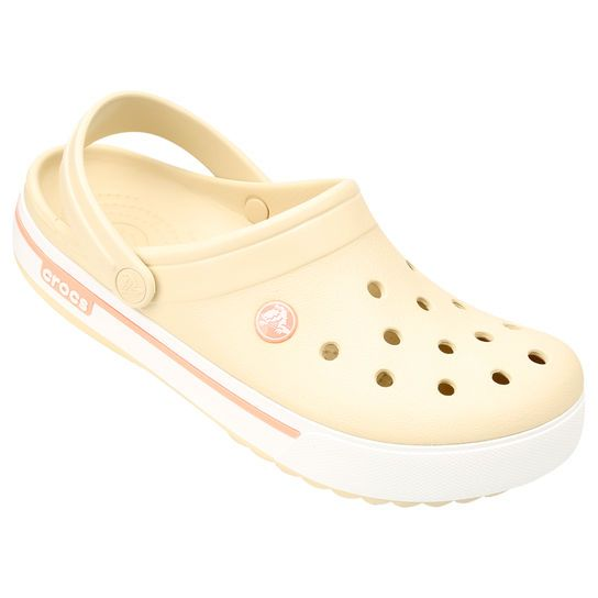 eb8ef5b06b094 Sandália Crocs Crocband 2.5 - Rose Gold | Moda, Customização ...