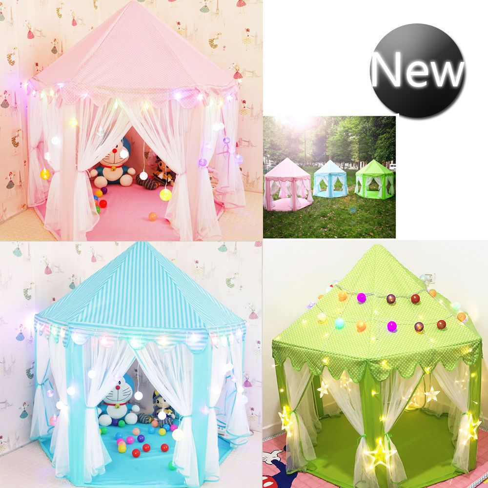 Children Kids Play Tent Fairy Princess Girls Boys Hexagon Playhouse House UK  sc 1 st  Pinterest & Children Kids Play Tent Fairy Princess Girls Boys Hexagon ...
