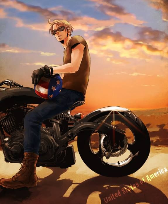 America, bad boys with motorcycles rock ;P