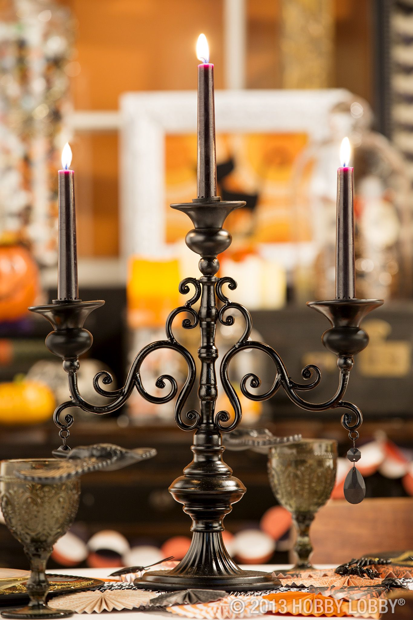 Give fall decor a whimsical whirl with these easy ideas! Fall - Hobby Lobby Halloween Decorations