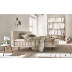 Photo of Box spring bed Kurtz with topper