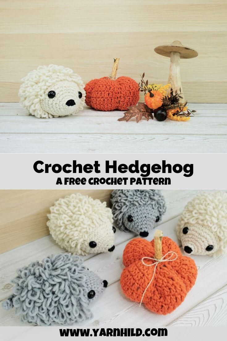 The Hedgehog Hedda — Crochet Hedgehog patterm
