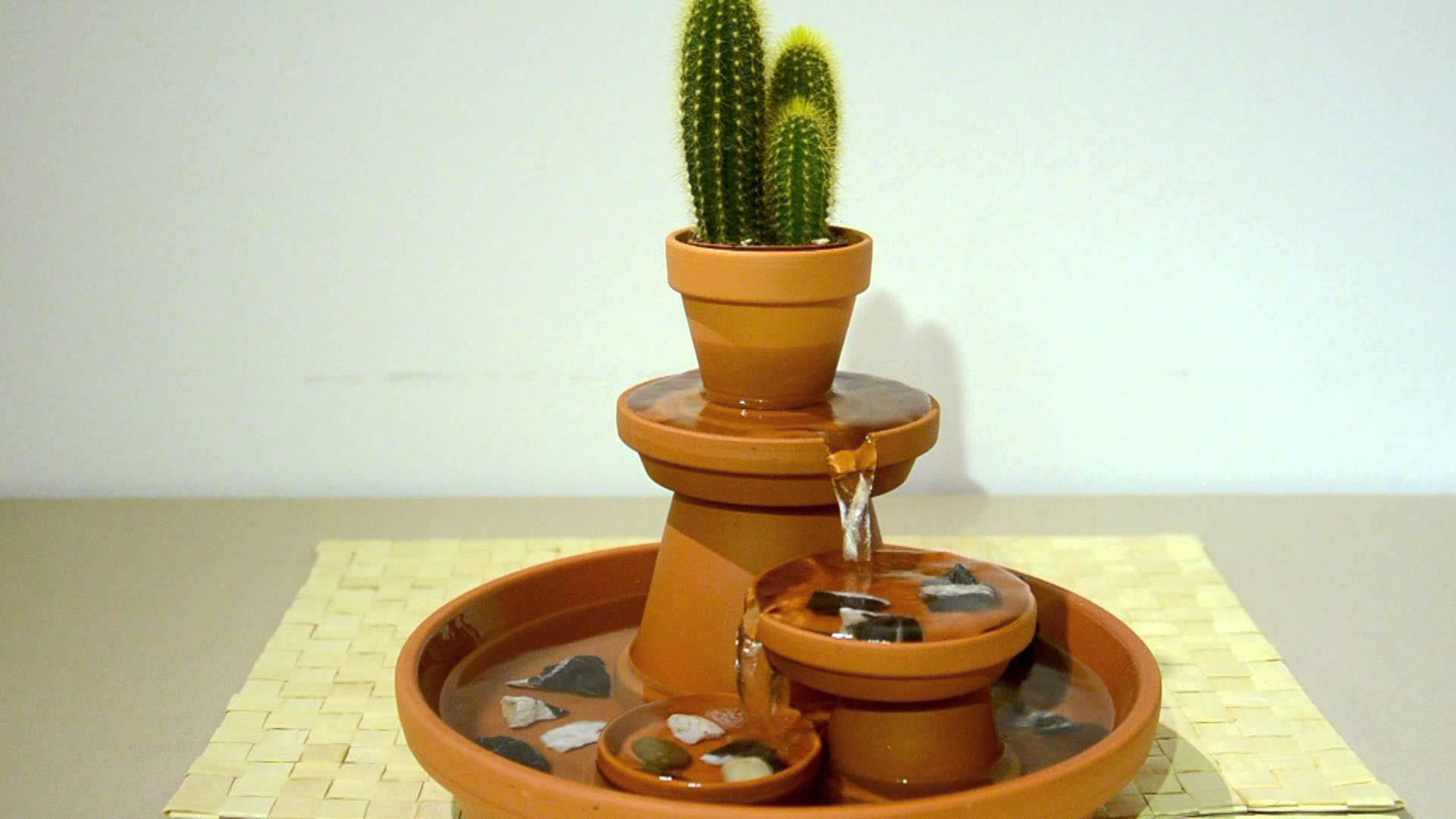DIY Indoor Fountain   Indoor Fountains   Pinterest   Indoor ...