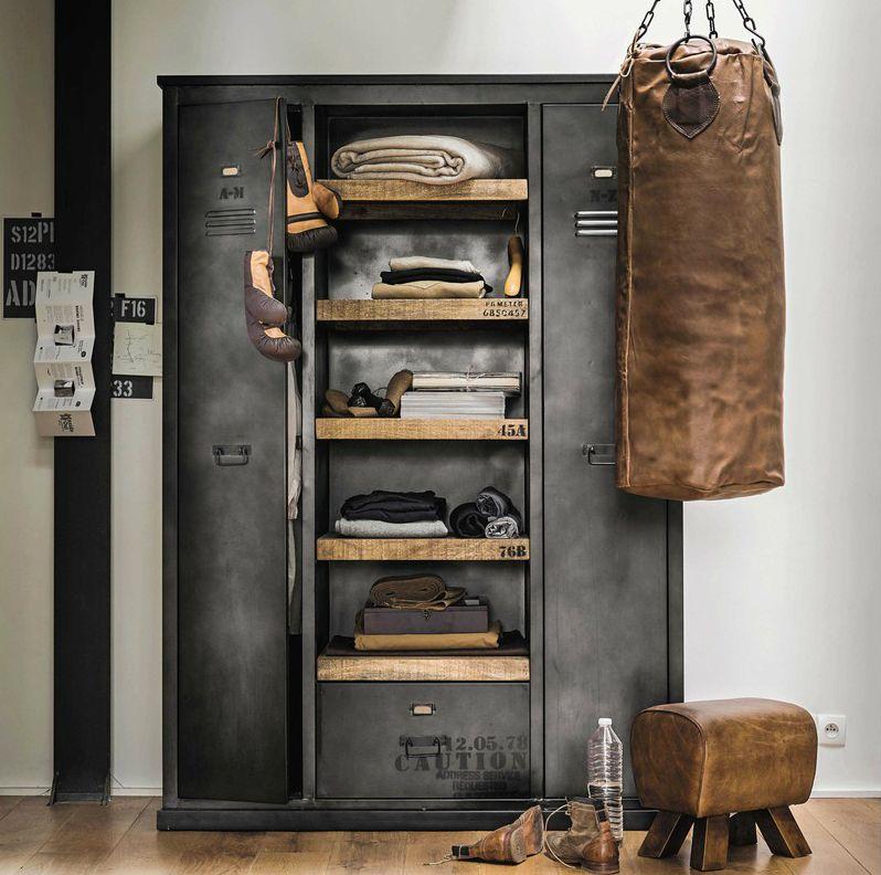 pin von miller wolfram auf deko loft style. Black Bedroom Furniture Sets. Home Design Ideas