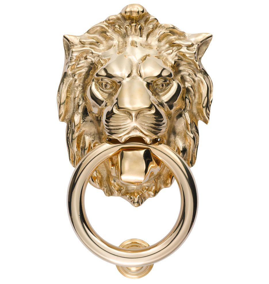 Lion Door Knocker   Rejuvenation