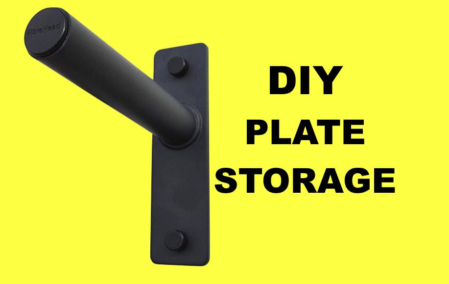 diy-bumper-plate-rack-wall-mounted-bumper-weight-plate-storage-rack #plateracks diy-bumper-plate-rack-wall-mounted-bumper-weight-plate-storage-rack #plateracks