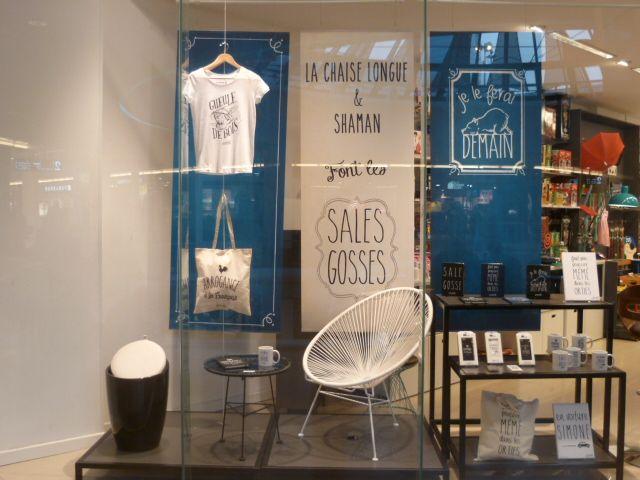 boutique la chaise longue lyon le fabuleux shaman vitrines