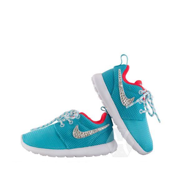 Nike Roshe Run Junior Trainers Polarised Blue