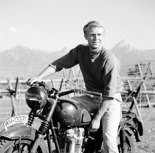 Steve McQueen, The Great Escape, 1963.