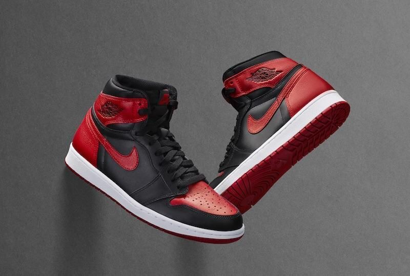 Banned OG Jordan 1 red and black Free standard shipping will arrive with  box (if b3cefa0b3