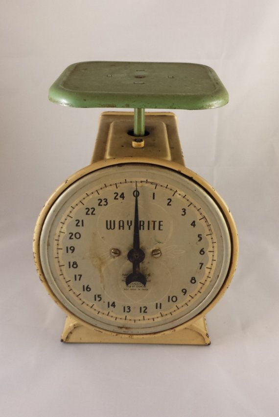 way rite kitchen scale by newlifevintagegoods