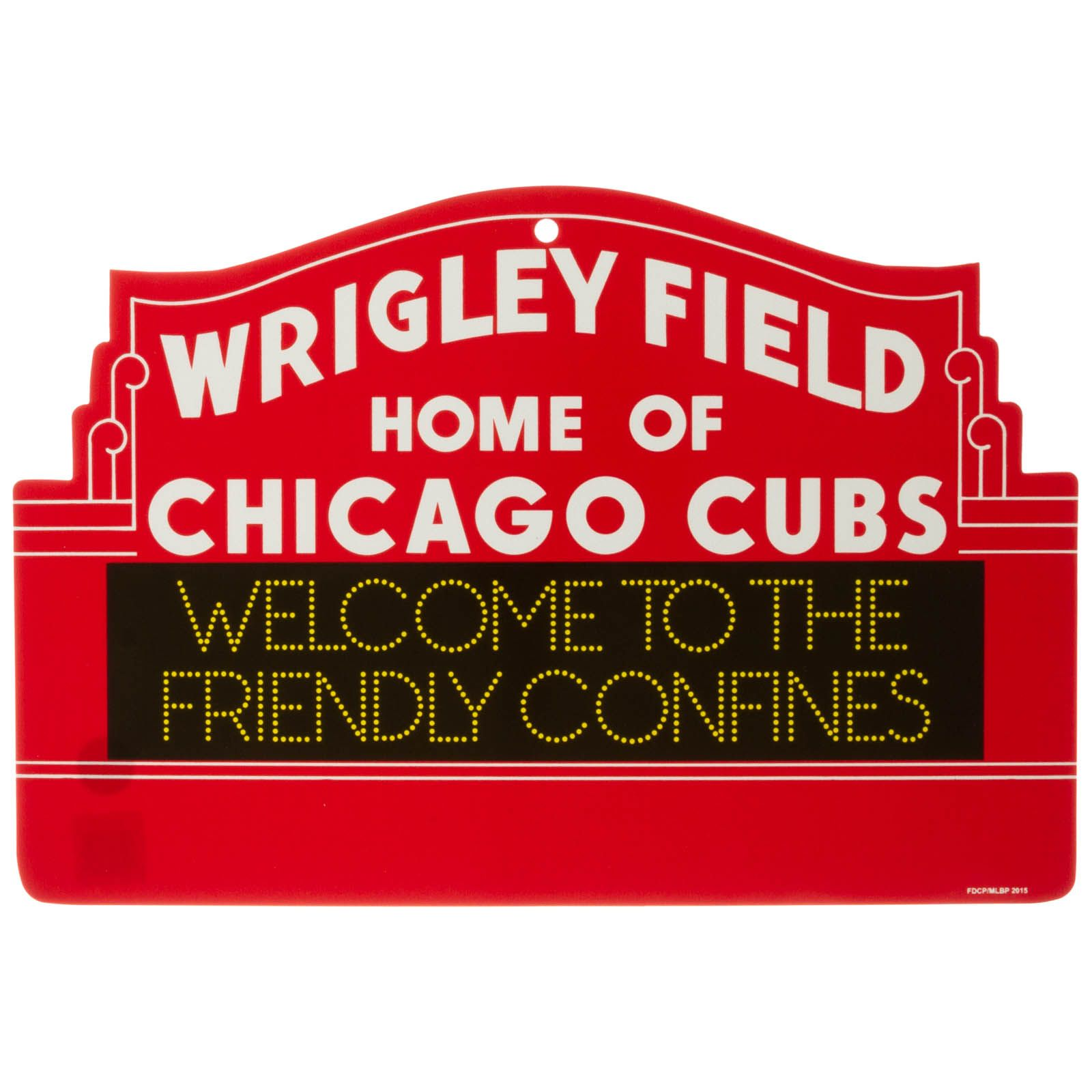 Wrigley Field Plastic Marquee Sign by Fremont Die Chicago