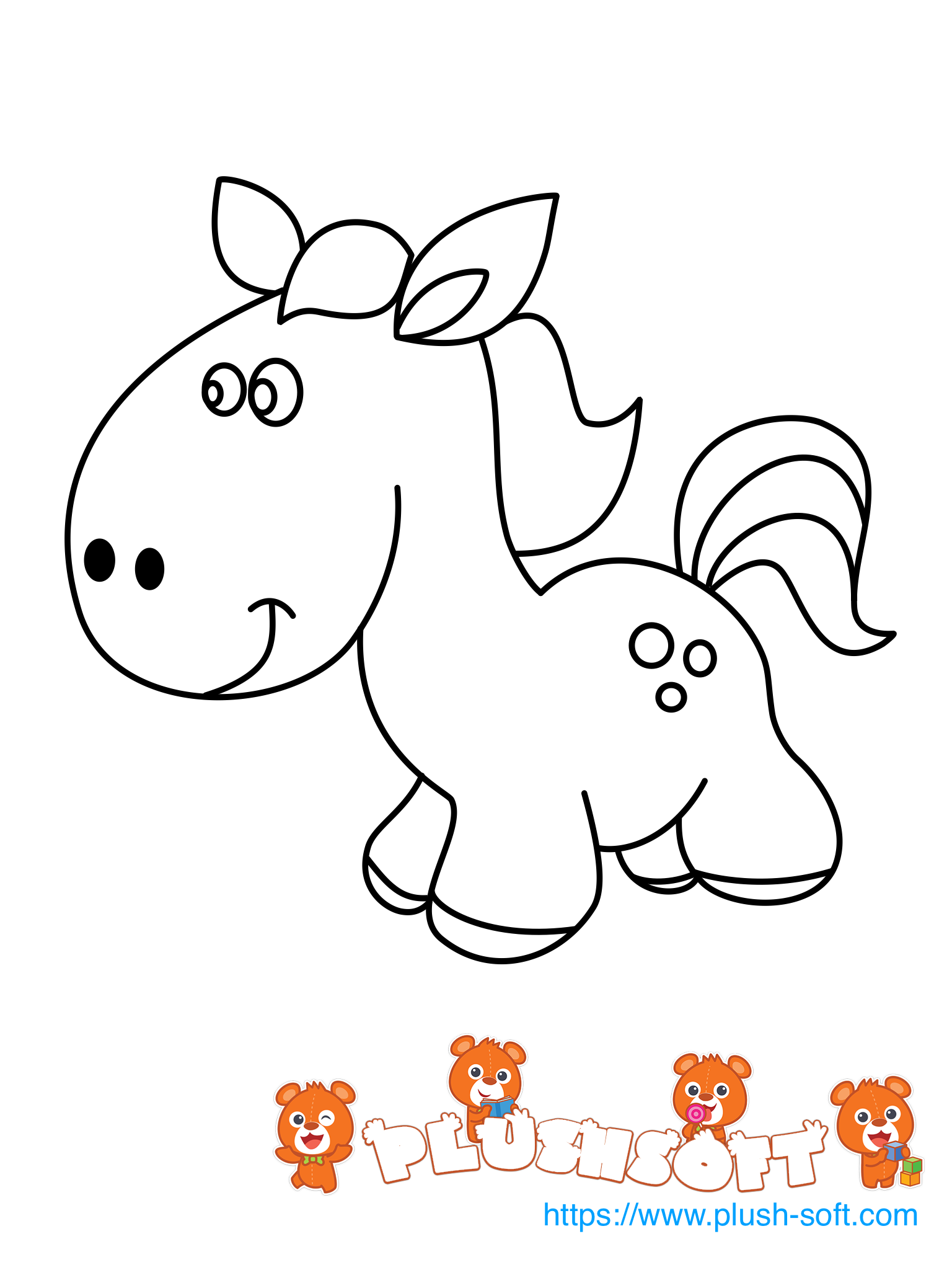 Subscribe For A New Coloring Page Every Day Https Plush Soft