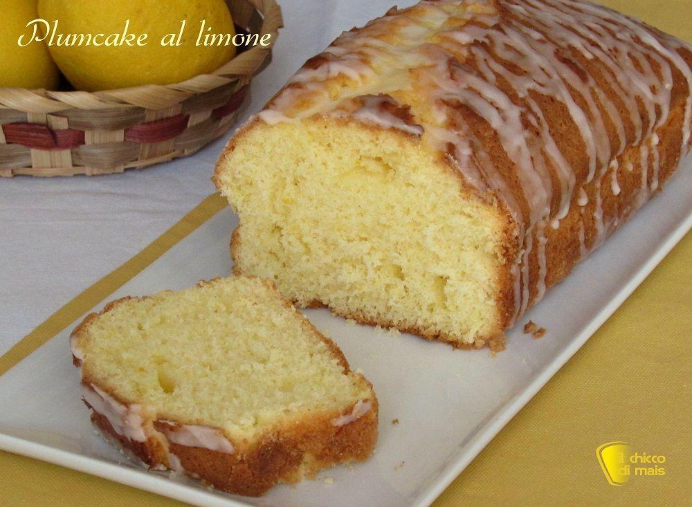 Photo of Plumcake al limone glassato senza burro