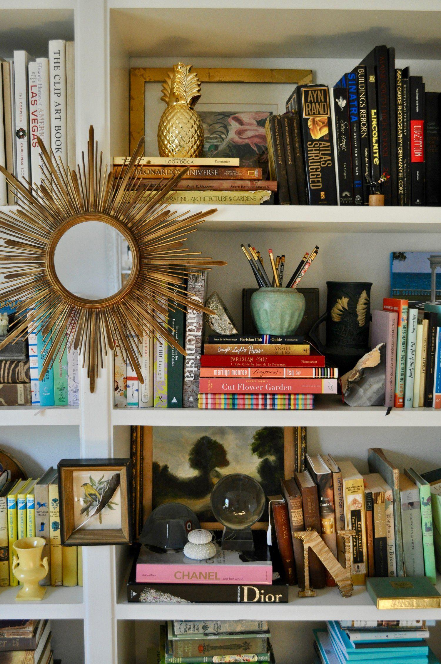 Nov 12 Rainbow Bookshelf Styling