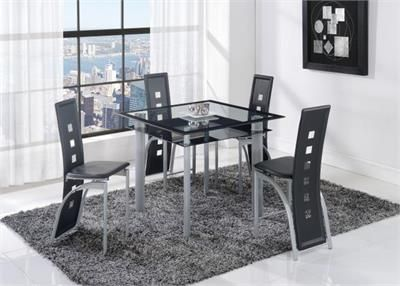D1058 5PC Counter Height Dining Set global furniture usa D1058 5PC