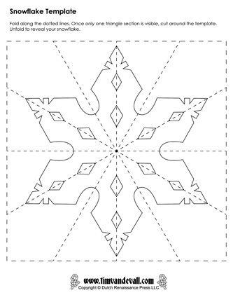 Paper Snowflake Templates For Christmas Holiday Crafts En 2020 Flocons De Neige En Papier Flocon De Neige Loisirs Creatifs De Noel