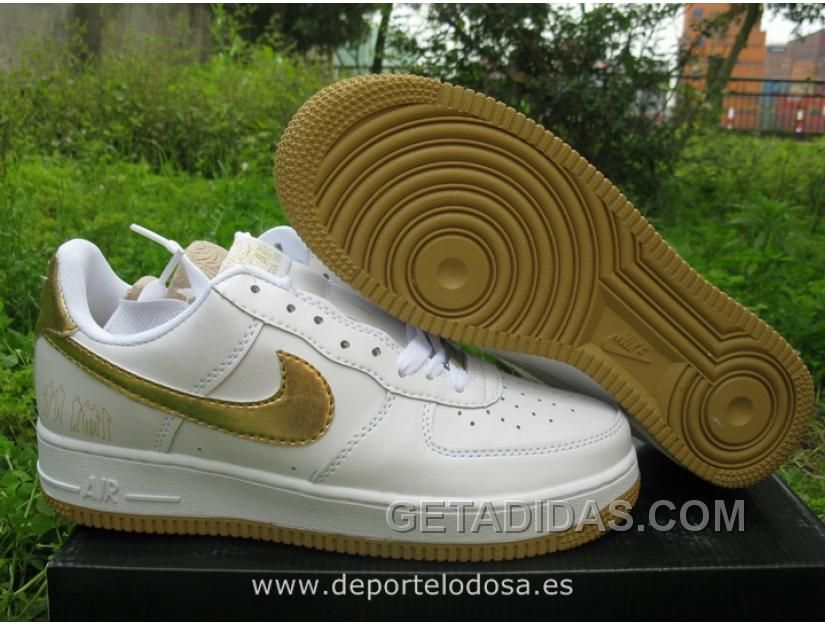 air force 1 hombre oro