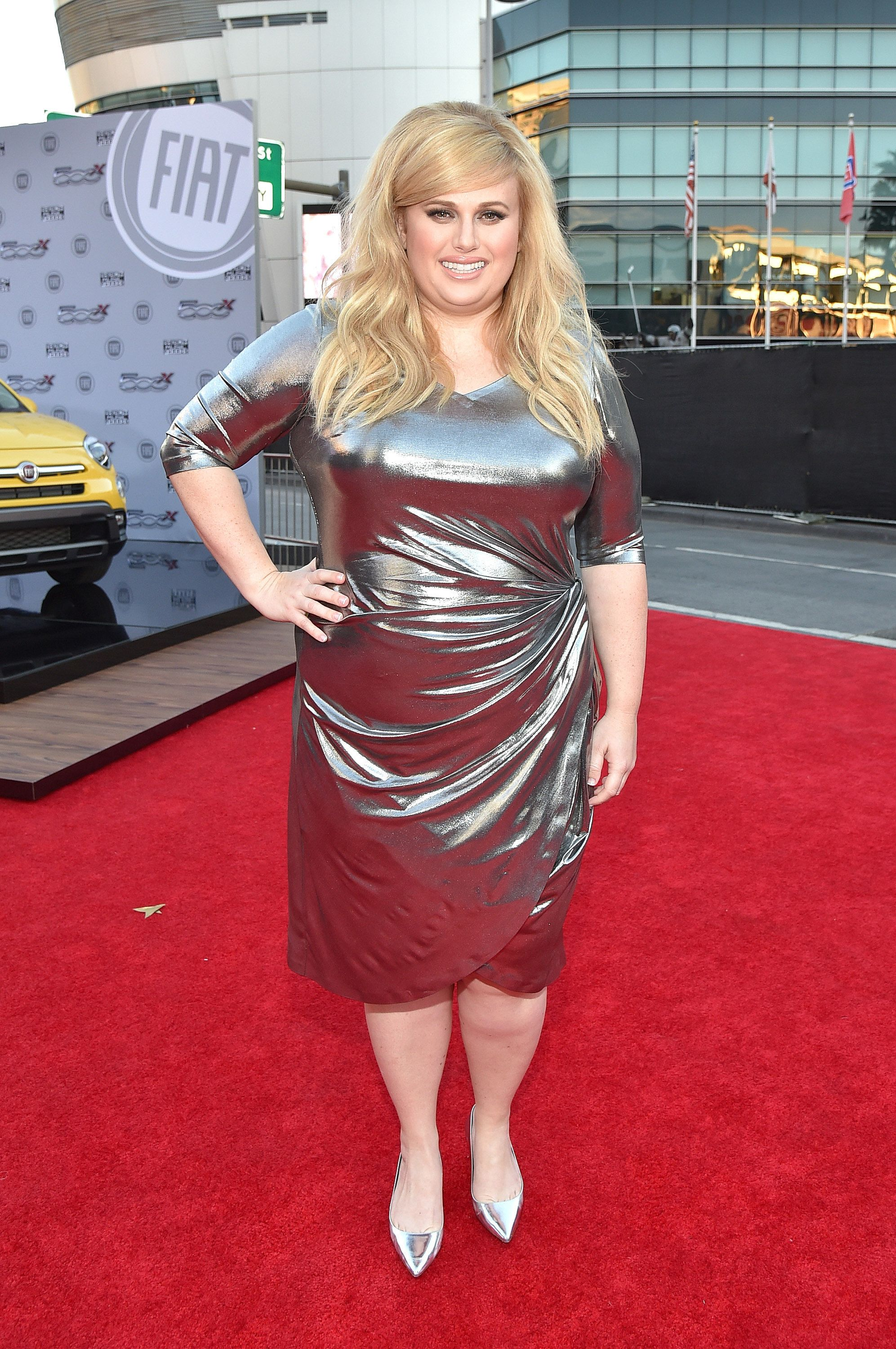 Rebel Wilson aux American Music Awards 2015
