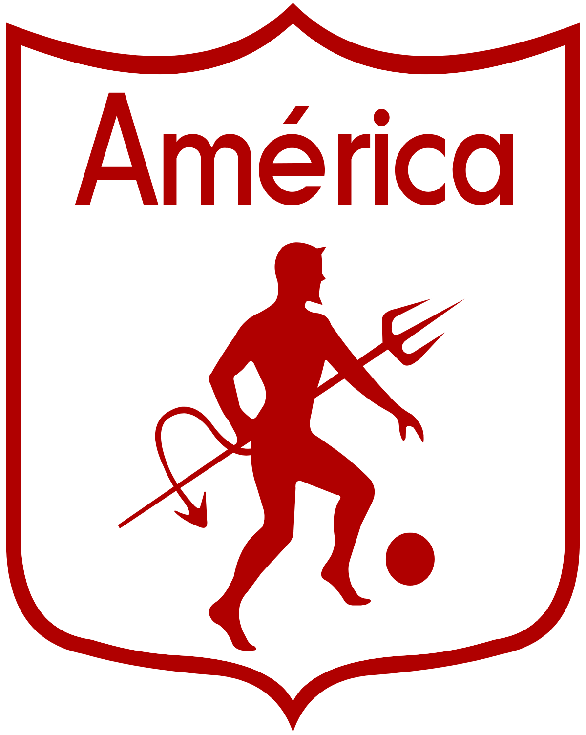 America De Cali Wikipedia Soccer Logo Sports Logo Football Logo
