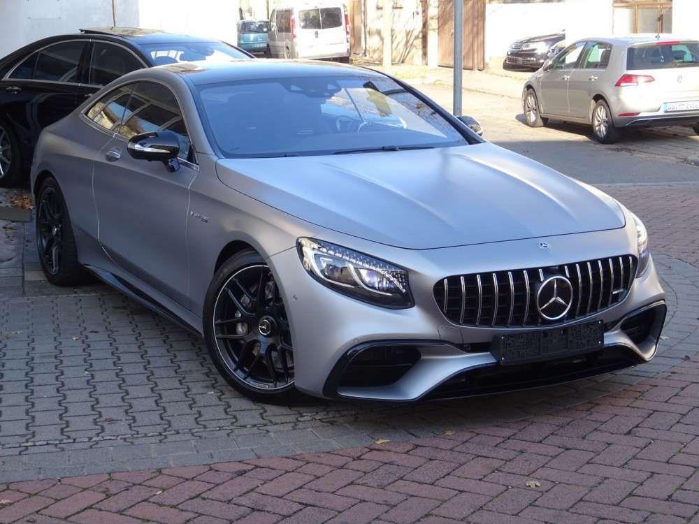 2018 Mercedes Benz Coupe S 63 Amg 4m Luxury Coupe Swarovski