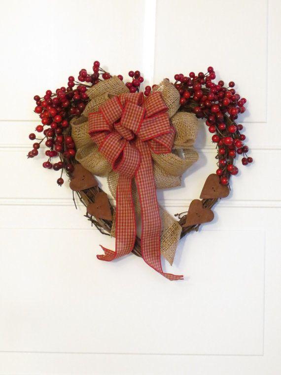 Valentine Door And Wall Decor Valentine Wreath
