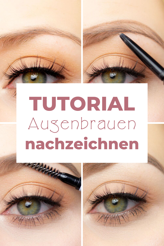 Make Up Tutorial Augenbrauen – Boda fotos