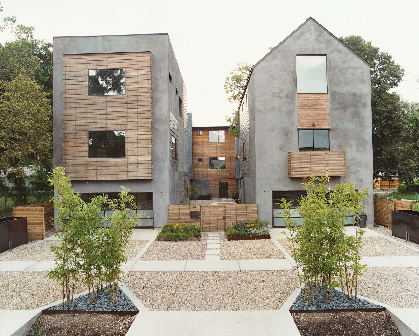Noteworthy Sustainable Homes By Jami Smith Jack Thompson Concrete Structure And Exposed Wood