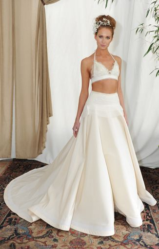 Sexy Wedding Dresses That Rocked the Runways | Bridal bikini ...