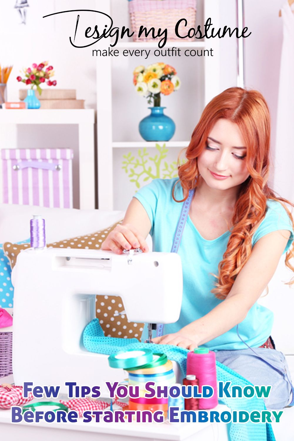 Things To Remember When Starting Your Own Embroidery Business Sewing Projects For Beginners Fabric Scraps Leftover Fabric