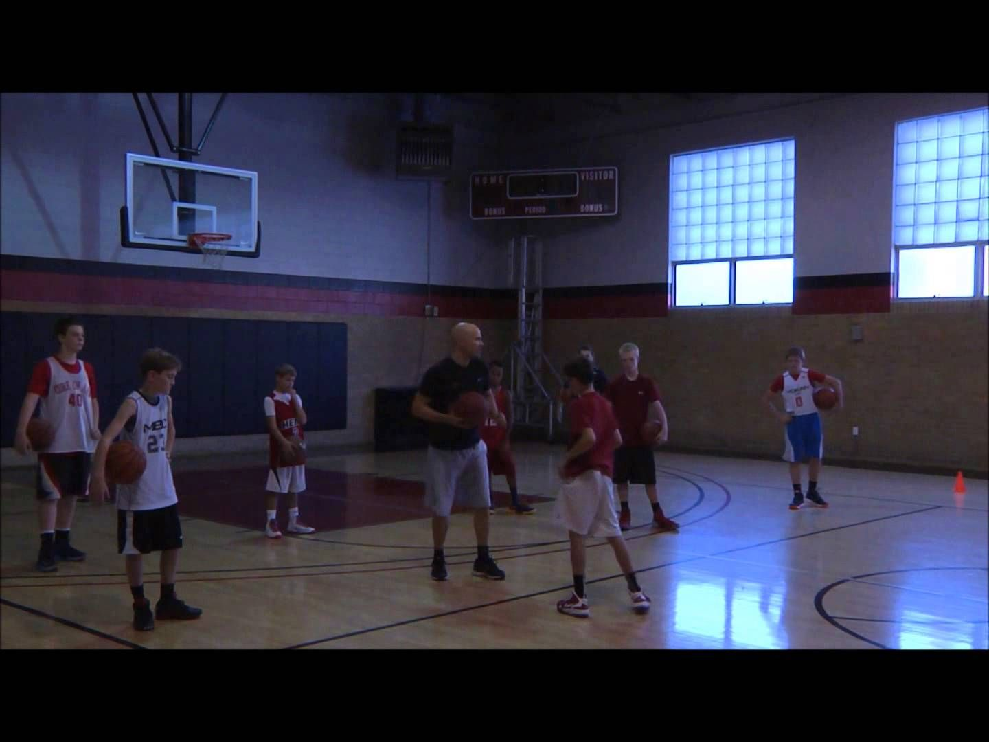 Ball security drills square up, rips, pivots Basketball