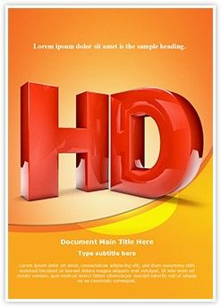 High definition hd word document template is one of the best word high definition hd word document template is one of the best word document templates by editabletemplates toneelgroepblik Images