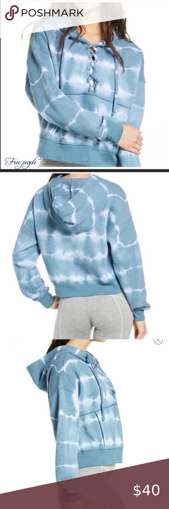 Sale Nwt Tie Dye Lace Up Hoodie Free People Zebra Print Leggings Fashion Clothes Design [ 1740 x 580 Pixel ]