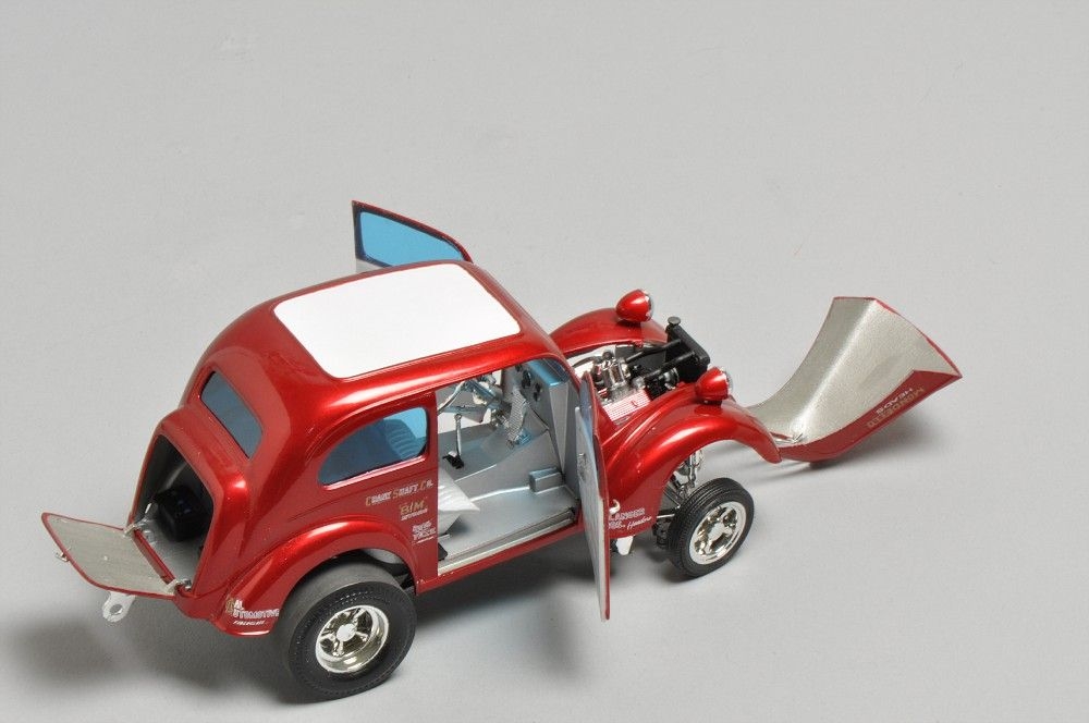 Gassers Revell Anglia Scale Auto Magazine For Building