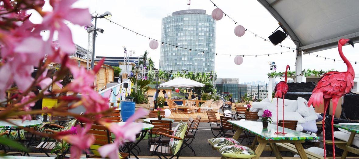 Les rooftops à truster Paris, Jardins suspendus, Jardin