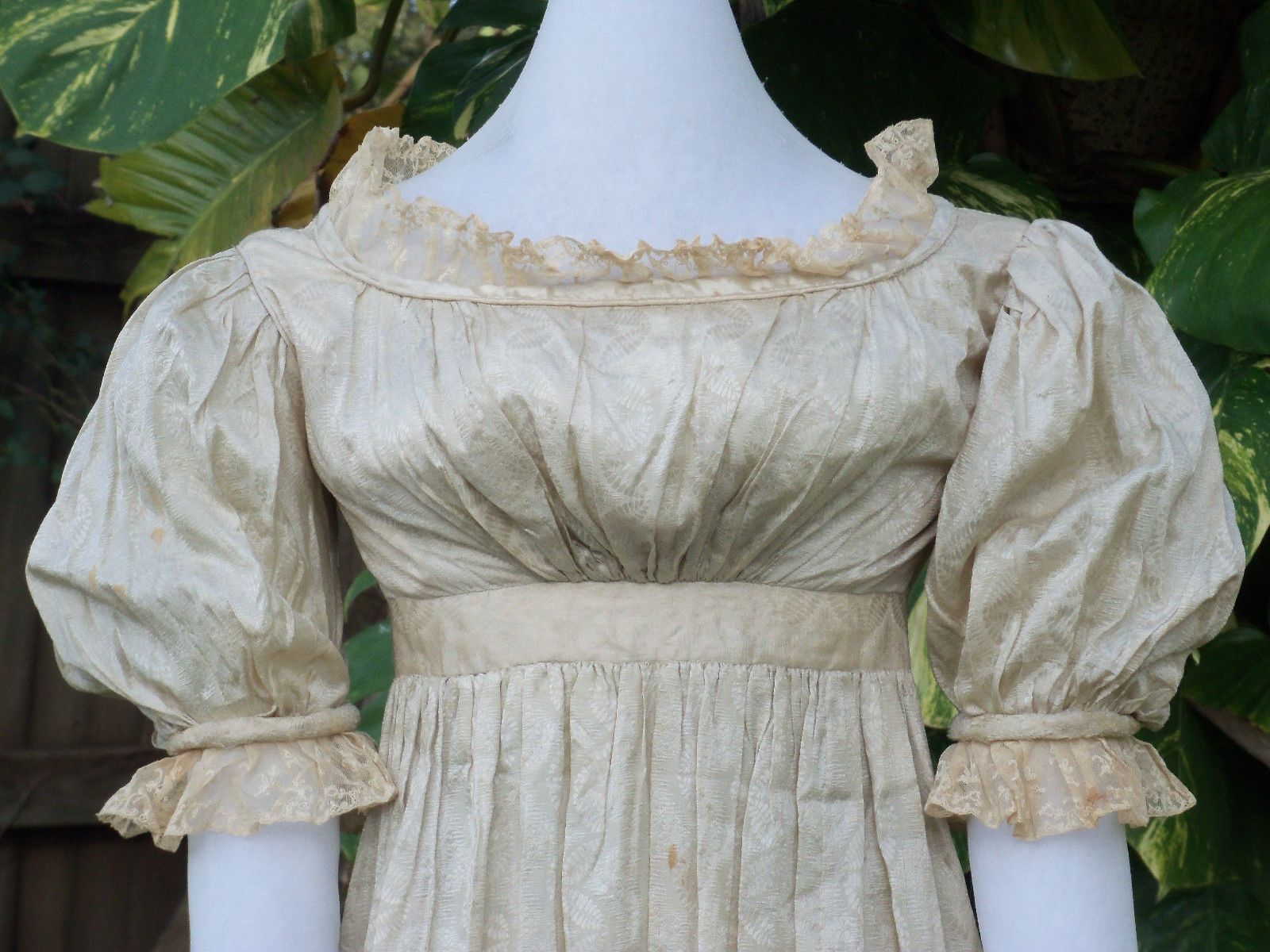 Original empire or georgian ball gown c free shipping today
