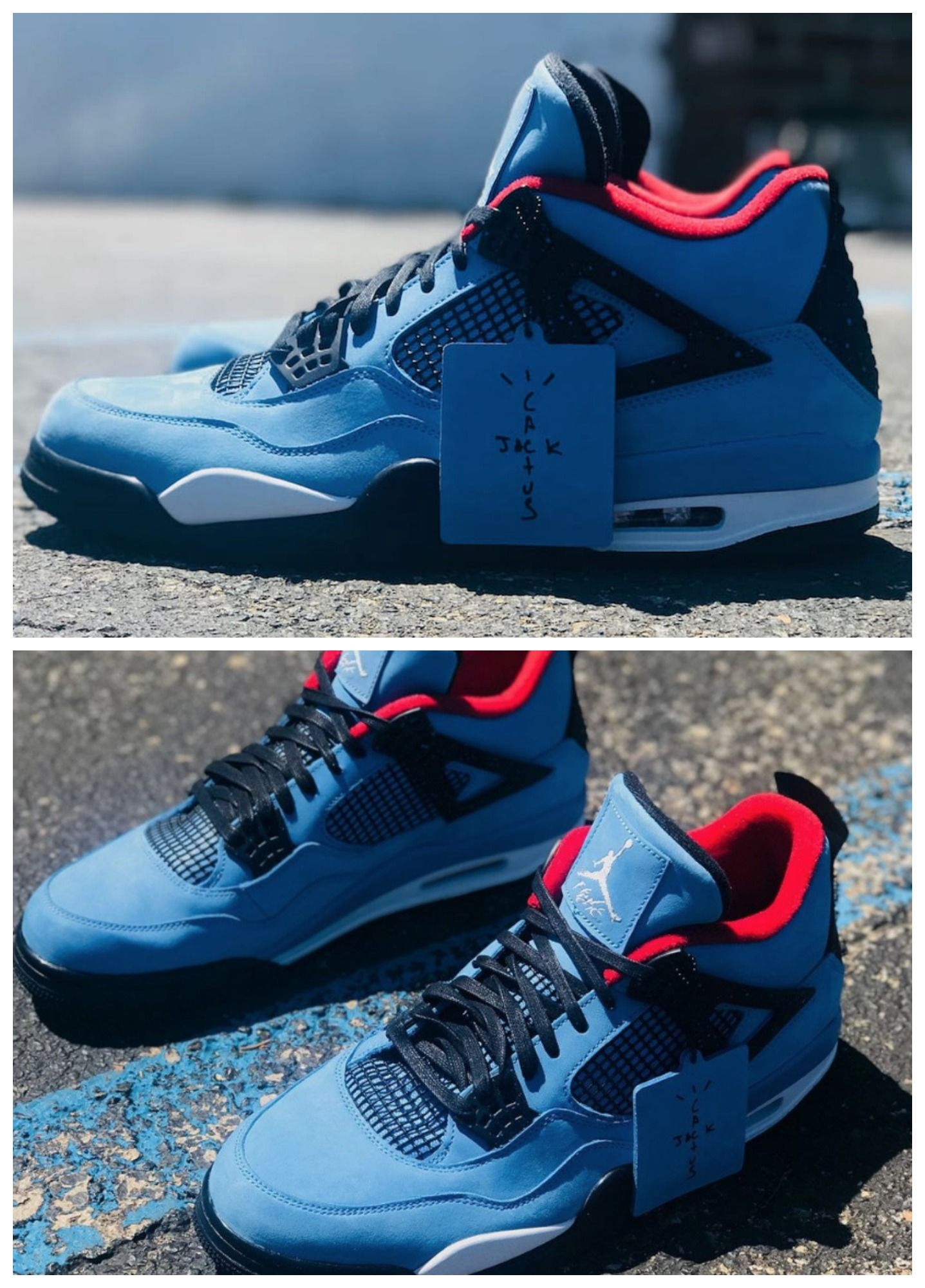 Travis Scott X Air Jordan 4 Cactus Jack The Hip Hop Artist And