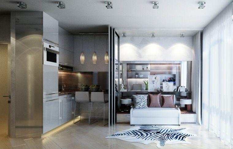 Intérieur et design petit espace : 61 idées pour la déco appart ...