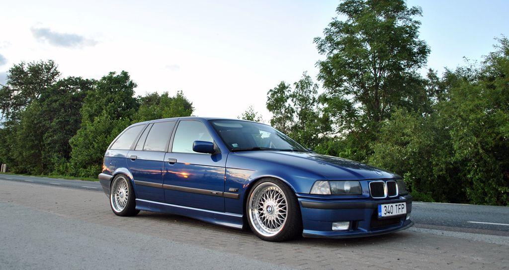 Avus Blue Bmw E36 Touring On Oem Bmw Styling 5 Wheels Bbs