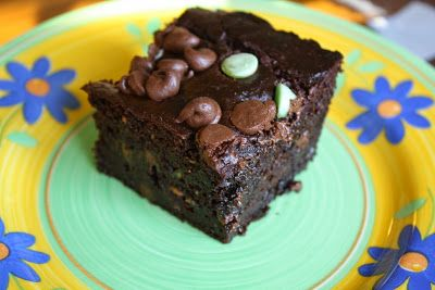 Of Winds and Water: Avocado Brownies (paleo and gluten-free)