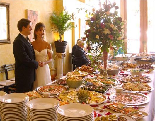 Cafe Luna; No Site Fees; ~$50pp For Reception With Food