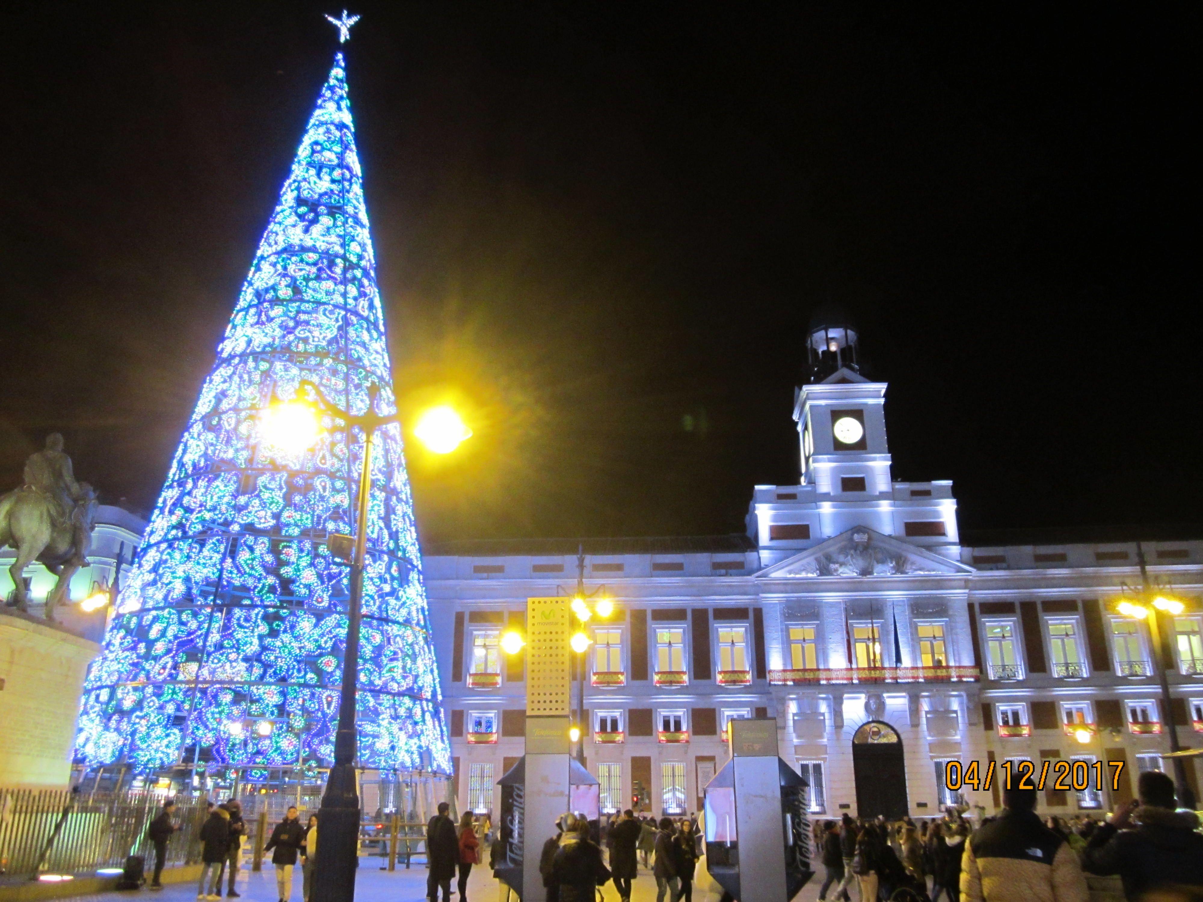 Madrid Iluminaci N Navide A 2017 Puerta Del Sol